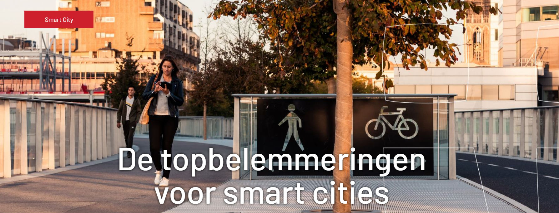 4 topbelemmeringen schaalsprong smart city