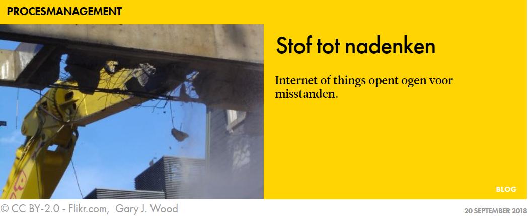 IoT opent ogen voor misstanden